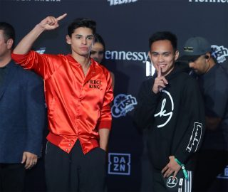 Romero Duno - Lightweight contender Ryan Garcia (18-0, 14 KOs) is trying not to look beyond his fight this Saturday against Romero Duno (21-1, 16 KOs) at the MGM Grand Garden in Las Vegas, Nevada. Garcia, 21, and Duno are the chief support on the Saul Canelo Alvarez vs. Sergey Kovalev card on DAZN.