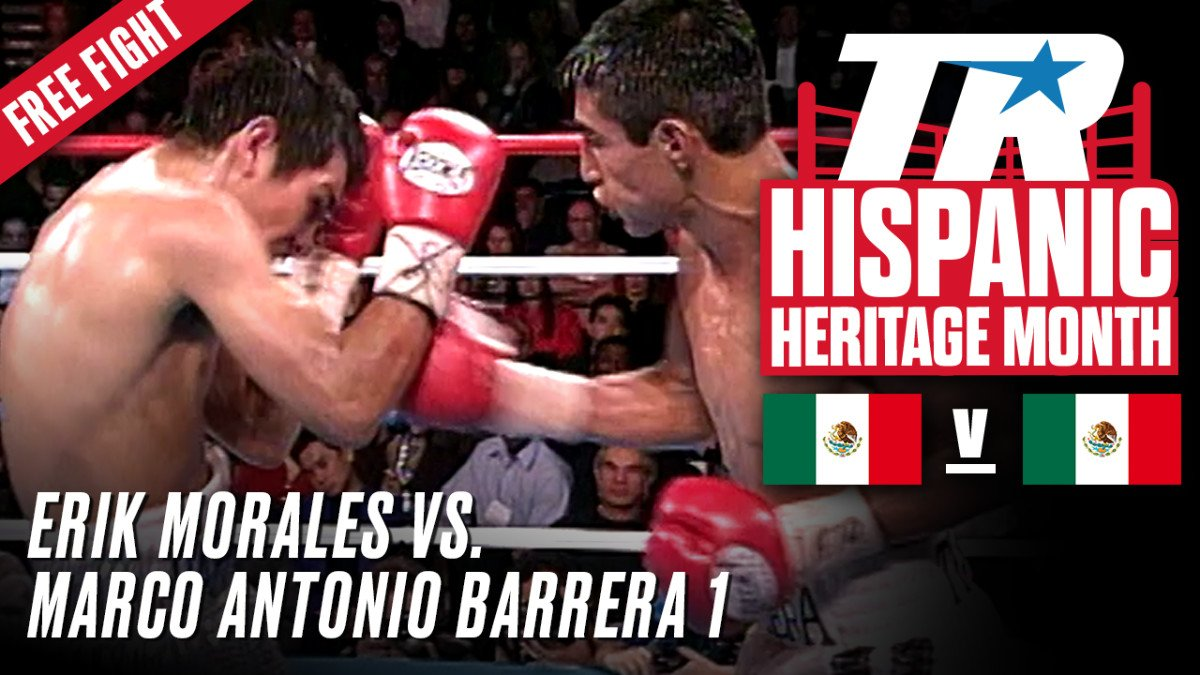 - Top Rank will open up the vault in honor of National Hispanic Heritage Month (September 15-October 15). Five of the greatest fights in company history featuring Hispanic fighters will be available for free on Top Rank's YouTube channel.
