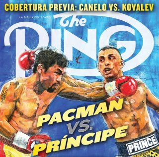 "Naseem Hamed - ""Two Power-Punching Superstars Clash In A Mythical Matchup For The Ages"""