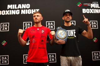 Domenico Valentino - The fight between European lightweight champion Francesco Patera (22-3 with 8 KOs) and Italian lightweight champion  Domenico Valentino (8-0 with 1 KO) on the 12 round distance is the co-main event of the October 25 card at Allianz Cloud in Milan, Italy, promoted by Opi Since 82, Matchroom Boxing Italy and DAZN which will stream it live.