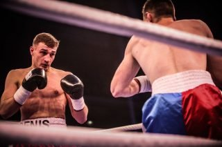 Denis Radovan - Team Sauerland's German IBF European Middleweight Champion Denis Radovan (12-0-1, 5 KOs) will fight under the tutelage of new trainer Grant Smith for the first time on Saturday night as he faces the experienced Luke Blackledge (26-8-2, 9 KOs) at The 02 in London.