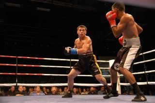 William Parra Smith - William Parra Smith had no amateur boxing experience before turning pro last year.