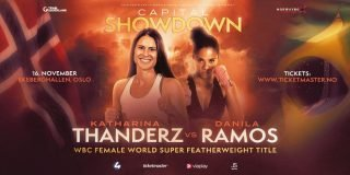 Katharina Thanderz - Katharina Thanderz (12-0, 2 KOs) has landed a dream World title fight on November 16 as she tops an action-packed event at the Ekeberghallen in Oslo.