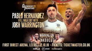 Sofiane Takoucht - Hall of Fame promoter Frank Warren today held the final press conference ahead of Josh Warrington's third IBF world featherweight championship defence at First Direct Arena, Leeds on Saturday (October 12), live on BT Sport.