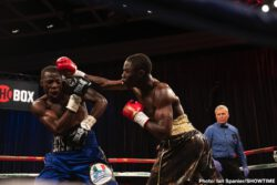 Xavier Martinez - Undefeated super featherweight prospect Xavier Martinez thrilled a sold-out crowd and boxing royalty at Sam's Town Live with one of the quickest knockouts in ShoBox: The New Generation history in the main event Friday night in Las Vegas.