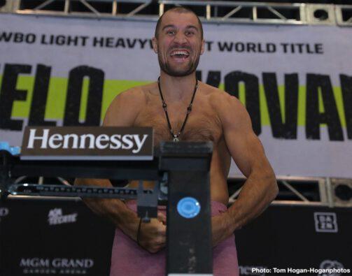 Canelo Alvarez, Sergey Kovalevv - Boxing News