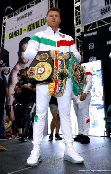 Canelo Alvarez Sergey Kovalevv Boxing News