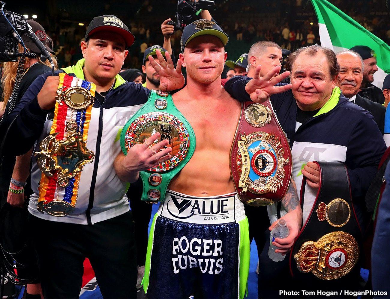 Canelo Alvarez Boxing News