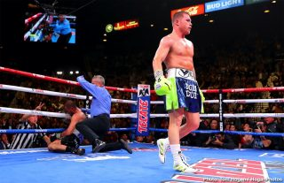 "Saul ""Canelo"" Alvarez - Canelo Alvarez KO 11 Sergey Kovalev: Saul Canelo Alvarez (53-1-2, 36 KOs) scored an 11th round knockout victory over Sergey Kovalev (34-4-1, 29 KOs) to capture his WBO light heavyweight title on Saturday night at the MGM Grand in Las Vegas, Nevada. Canelo hurt Kovalev with a left and then took him out with a chopping right hand that sent him down on the canvas. The bout was stopped on the spot by the referee Russell Mora. The fight was stopped at 2:15 of round 11."