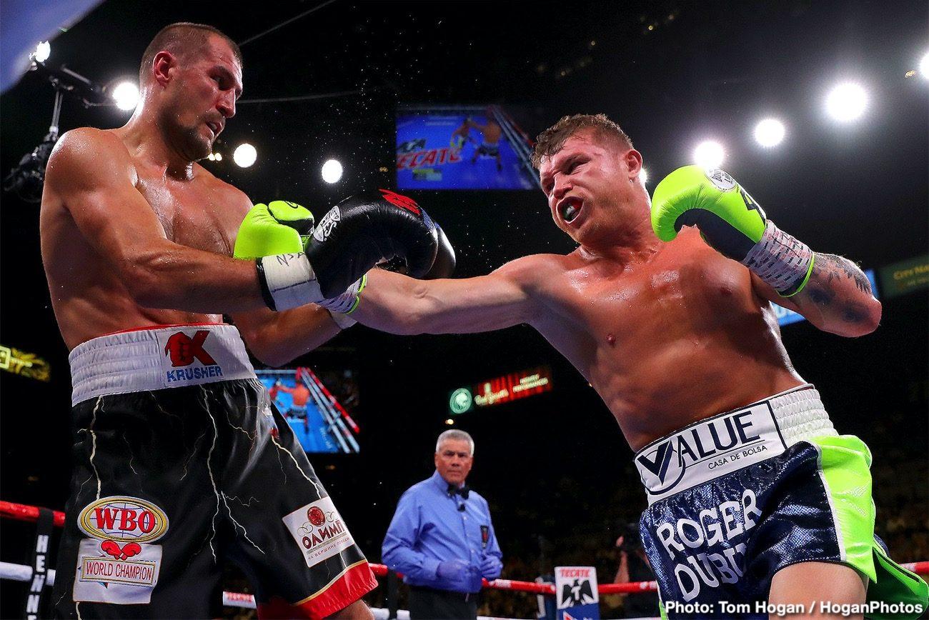 """Badou Jack Saul """"Canelo"""" Alvarez Sergey Kovalev Boxing News"""