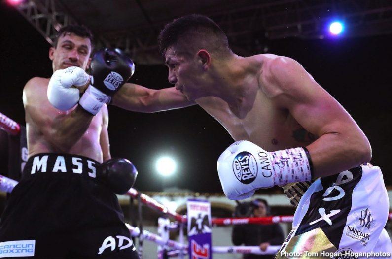 Pablo Cesar Cano Roberto Ortiz Boxing Results Press Room