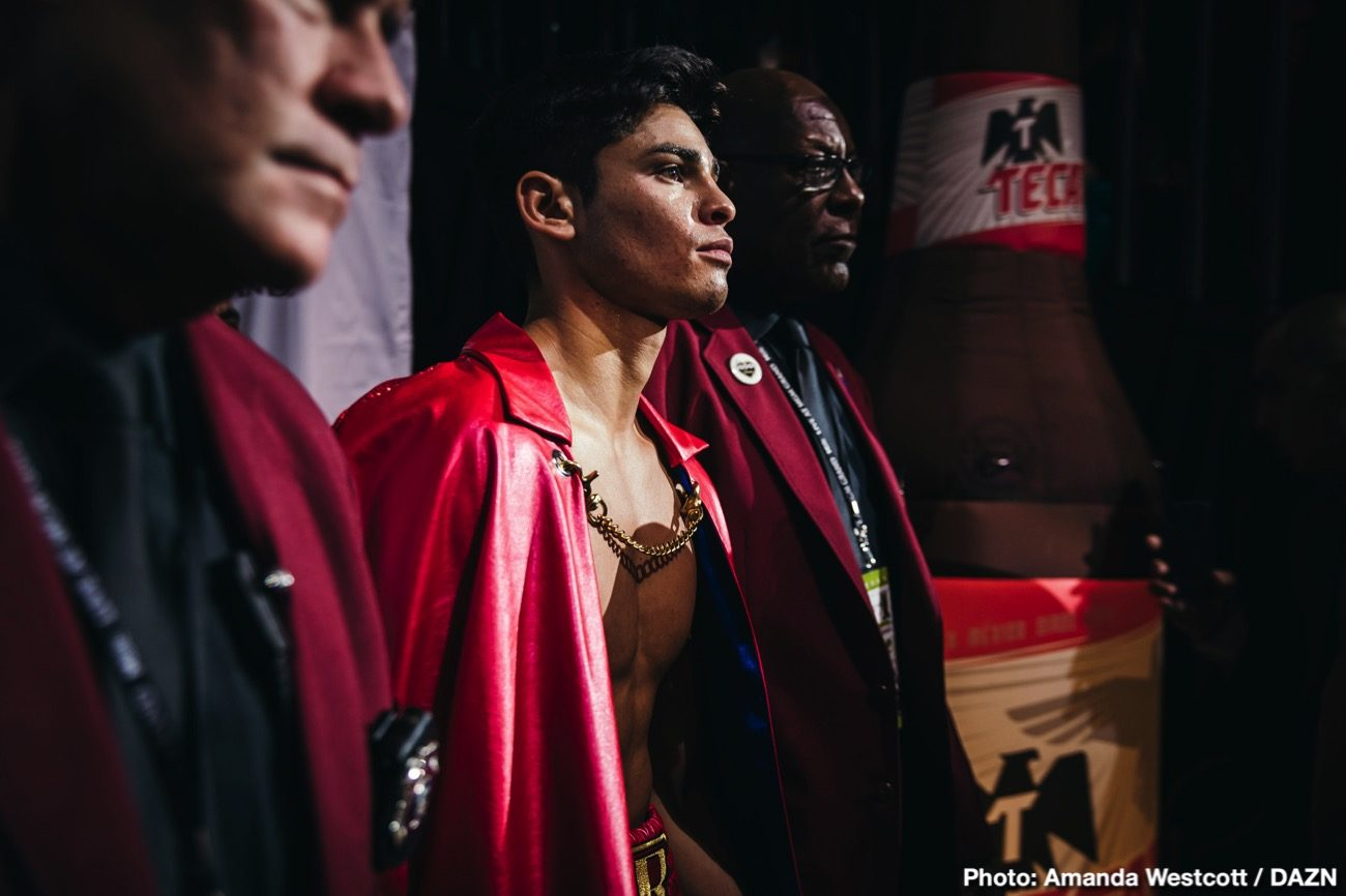 Luke Campbell, Ryan Garcia - Golden Boy Promotions has received an offer from Matchroom for Ryan Garcia to face Luke Campbell in the WBC ordered fight for the interim lightweight belt. Oscar De La Hoya was waiting for the proposal from Matchroom, and now he has it.