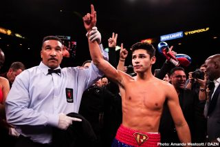 Luke Campbell - One of the most highly anticipated lightweight showdowns in recent years is set to finally take place as rising star Ryan Garcia (20-0, 17 KOs) faces off against experienced contender and Olympic gold medalist Luke Campbell (20-3, 16 KOs) in a 12-round battle for the interim WBC Lightweight World Championship.