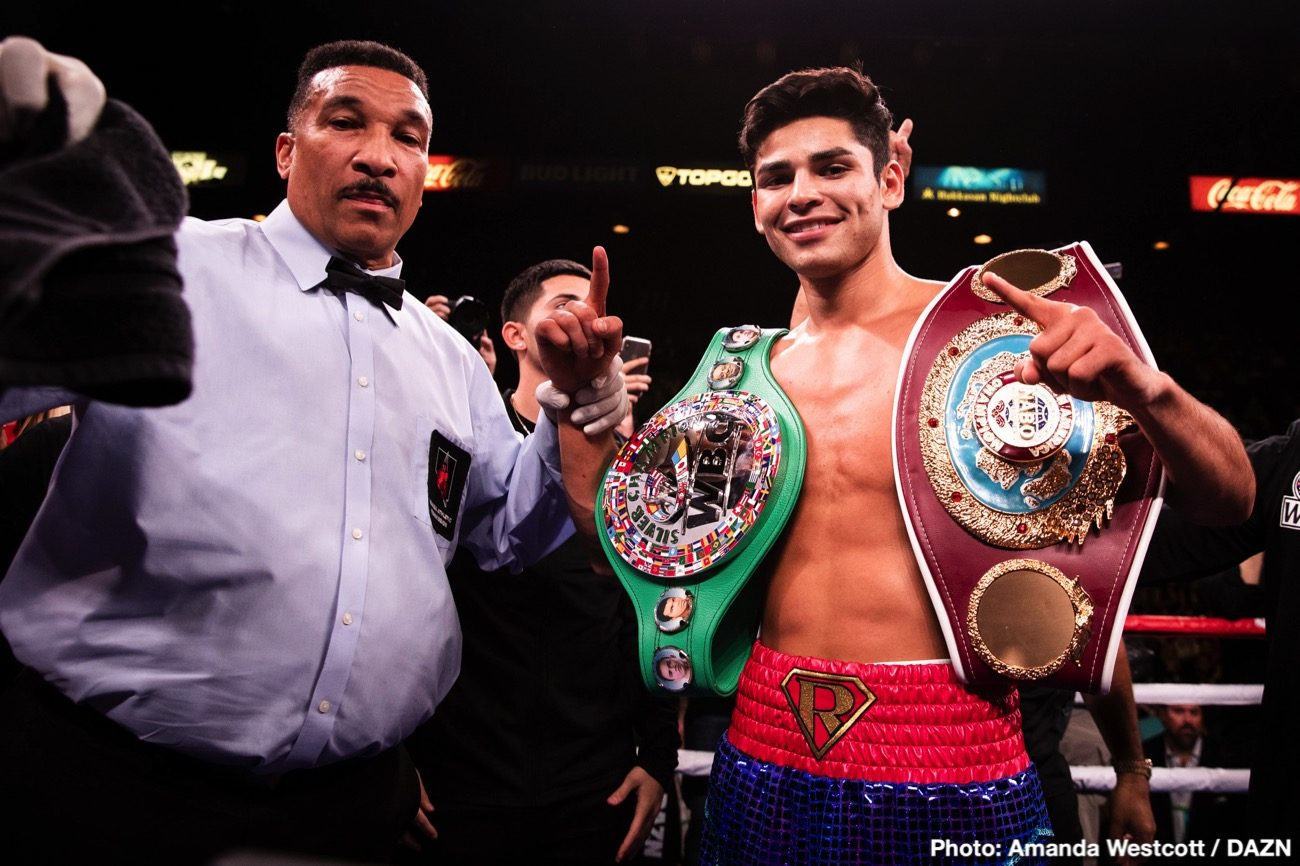 Luke Campbell, Ryan Garcia - Press Room