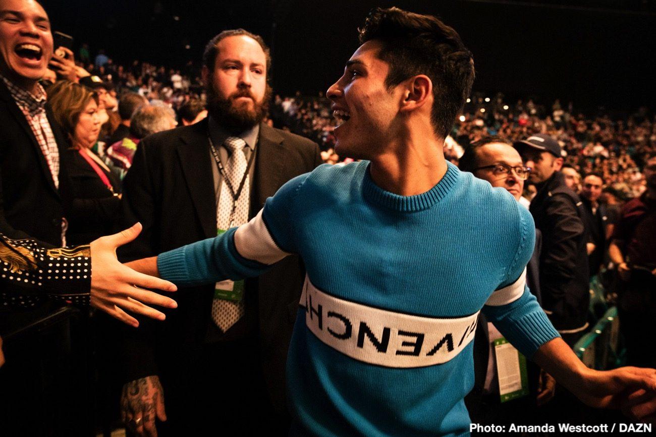 Emmanuel Tagoe, Ryan Garcia - Earlier on Monday, the WBO ordered Ryan Garcia (20-0, 17 KOs) and Emmanuel Tagoe (31-1, 15 KOs) to fight in a 135-lb title eliminator. The Garcia-Tagoe winner will be the mandatory challenger for WBO lightweight champion Vasily Lomachenko.