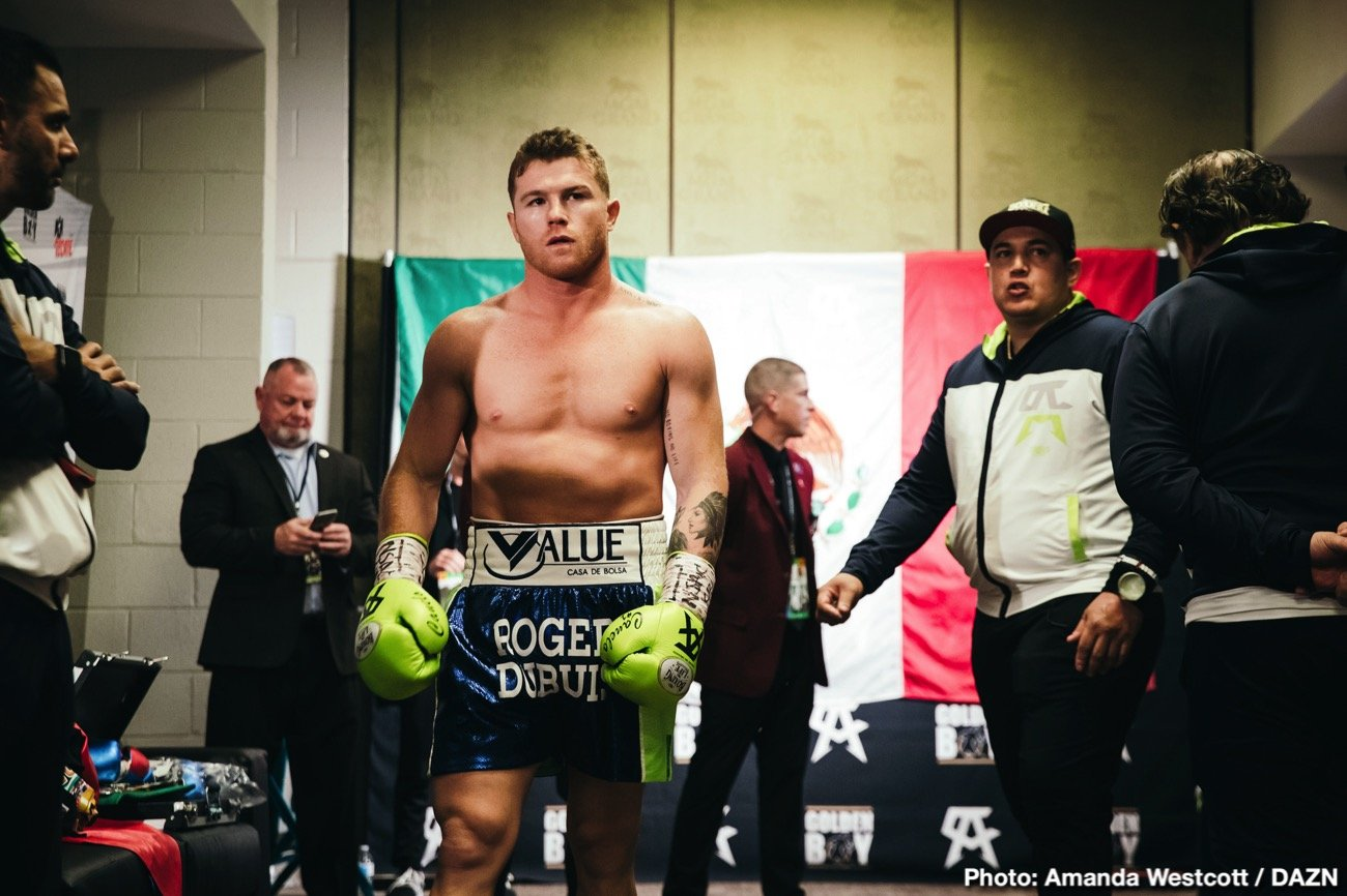 "Canelo Alvarez - It seems Canelo Alvarez could fight Billy Joe Saunders on May 2 after all. As fans know, both Saunders, the reigning WBO super-middleweight champion, and Callum Smith, the current WBA ruler at 168 pounds, last week turned down offers to fight Canelo. But now, as per a tweet from Mike Coppinger, a Canelo-Saunders fight is ""about 95 percent there,"" with the two sides ""determined to finalize a deal this week for a May 2 super-middleweight title fight on DAZN."""