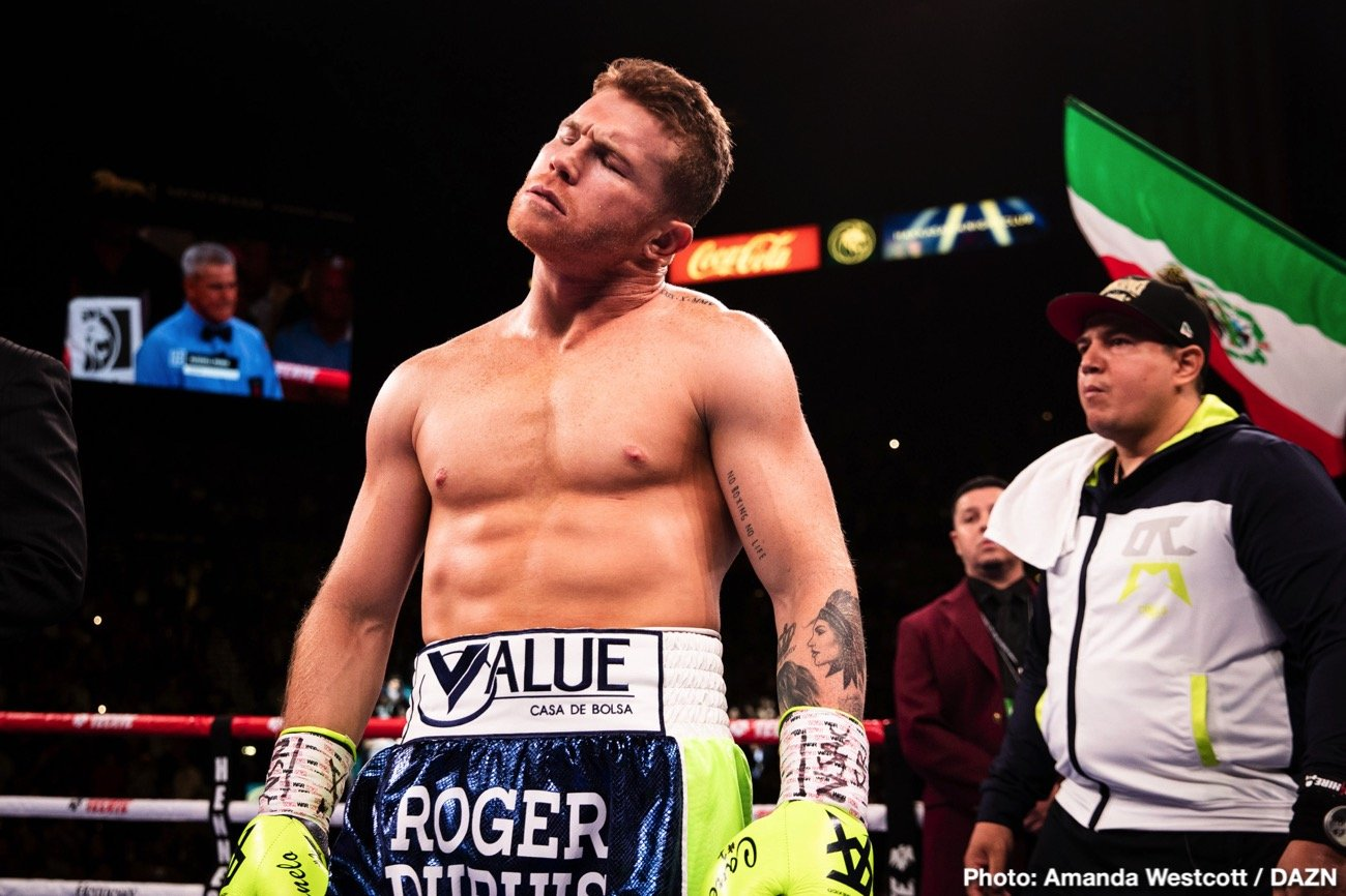 "Billy Joe Saunders - Superstar Canelo Alvarez will fight on May 2, over the big Cinco de Mayo celebratory weekend, but we don't yet know who Canelo's opponent will be, nor do we know the venue of the fight. However, according to a tweet from top boxing writer Mike Coppinger, Britain's Billy Joe Saunders is the fighter Canelo has ""zeroed in on"" and negotiations for the fight are expected to begin in earnest this week:"