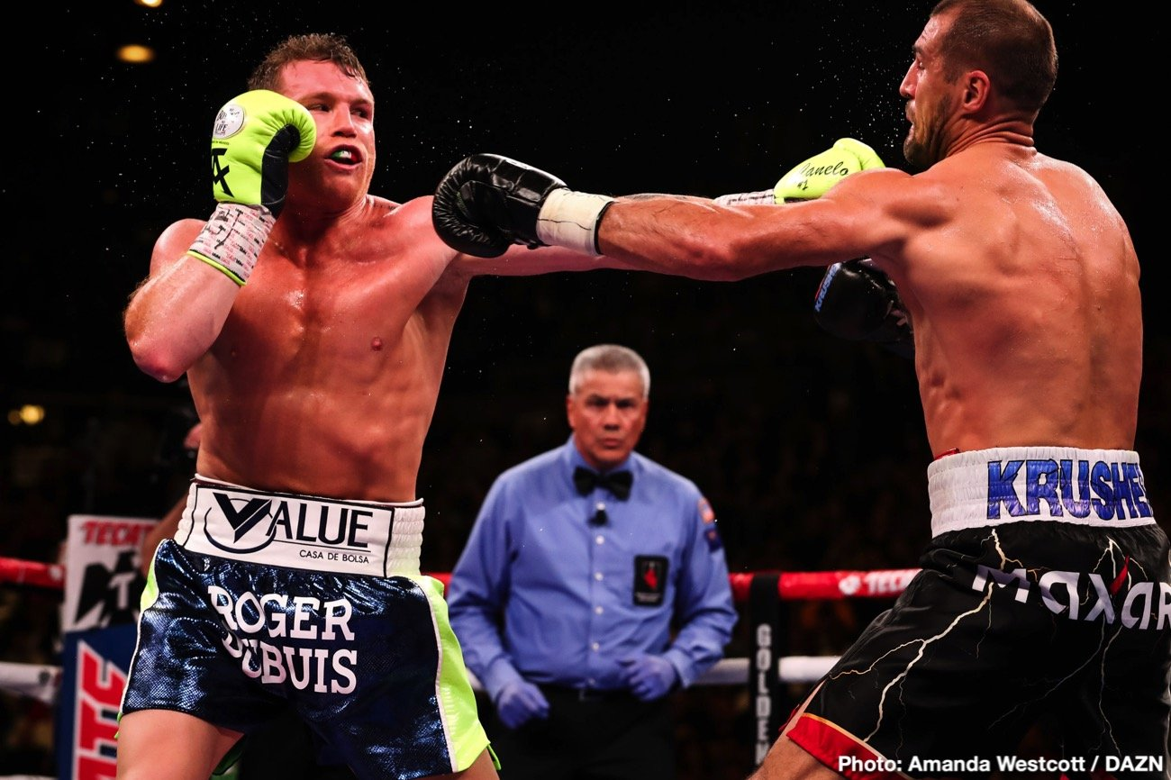 Canelo Alvarez - Matchroom Boxing's guru Eddie Hearn says the Billy Joe Saunders vs. Canelo Alvarez fight has an agreement in place for an announcement as early as next week for their much talked about fight on May 2 in Las Vegas, Nevada.