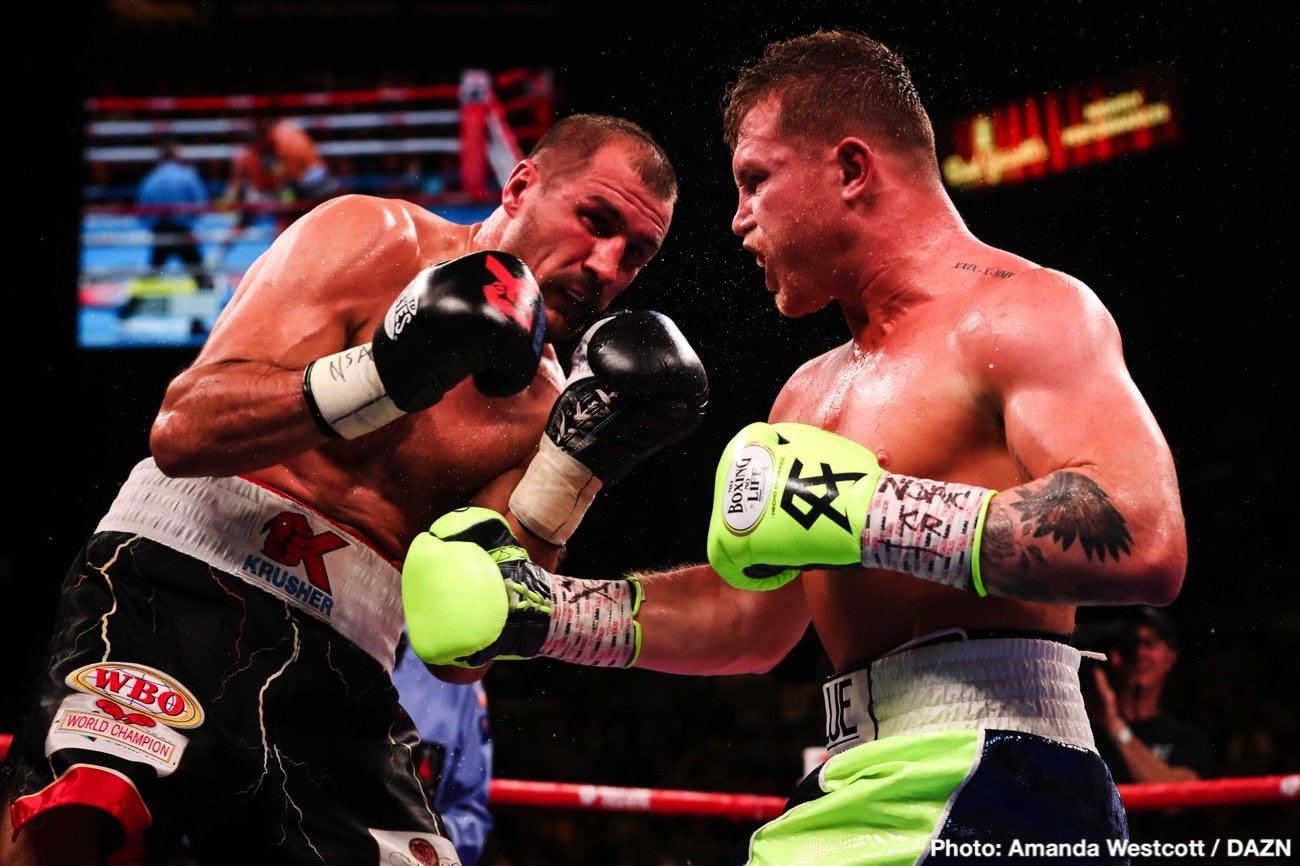 "Sergey Kovalev - Going into last night's risky gamble of a fight with light-heavyweight belt-holder Sergey Kovalev, Mexican superstar Canelo Alvarez claimed he was the best pound-for-pound fighter in the sport; ahead of guys like Vasyl Lomachenko, adding that he has ""done more."" Now, in light of his quite spectacular 11th round KO of Kovalev, more than a few fans will be inclined to agree with the flame-haired warrior."