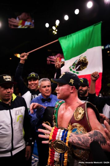 """Canelo Alvarez, Sergey Kovalev - Going into last night's risky gamble of a fight with light-heavyweight belt-holder Sergey Kovalev, Mexican superstar Canelo Alvarez claimed he was the best pound-for-pound fighter in the sport; ahead of guys like Vasyl Lomachenko, adding that he has """"done more."""" Now, in light of his quite spectacular 11th round KO of Kovalev, more than a few fans will be inclined to agree with the flame-haired warrior."""