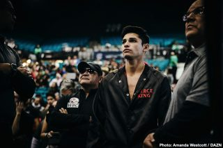 Mayweather Promotions - Ryan 'Kingry' Garcia says Mayweather promotions and Gervonta 'Tank' Davis both need him to get that mega-fight that they want to make a lot of money.