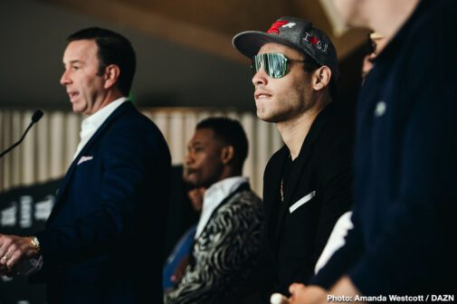Danny Jacobs, Julio Cesar Chavez Jr. - DAZN closes out its first full year in boxing with a stacked card highlighted by Daniel 'Miracle Man' Jacobs making his Super Middleweight debut against Mexican star Julio Cesar Chavez Jr. on Friday, Dec. 20 at the Talking Stick Resort Arena in Phoenix, Arizona.