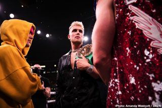 Jake Paul says Canelo Alvarez is ducking Benavidez and Andrade