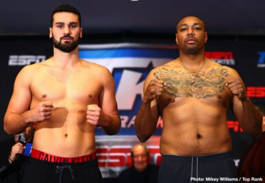 Andres Gutierrez, Carl Frampton, Óscar Valdez, Tyler Mccreary - Gutierrez Overweight: Adam Lopez Steps Up to Face Oscar Valdez in Saturday's ESPN+ Main Event.