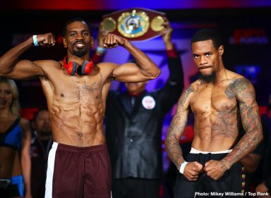 Jamel Herring Lamont Roach Boxing News