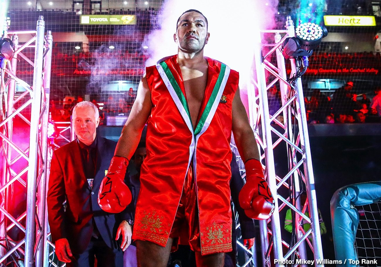 Anthony Joshua, Eddie Hearn, Kubrat Pulev - Anthony Joshua is back in training for his next title defense of his IBF belt against mandatory Kubrat Pulev for November. AJ's promoter Eddie Hearn of Matchroom, is extremely optimistic that the UK government legislation will allow for crowds to return by the time Joshua battles Pulev (28-1, 14 KOs) in November.