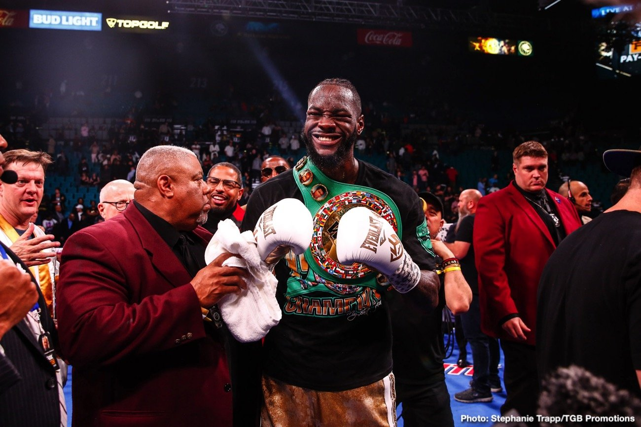"Andy Ruiz, Anthony Joshua, Deontay Wilder, Luis Nery, Luis Ortiz - By Mauricio Sulaiman - Son of José Sulaimán / WBC President: Two Mexican fighters dropped a great opportunity to shine in one of the most important boxing cards of this 2019. Luis ""Pantera"" Nery and Julio César ""Pollito"" Ceja did not make the weight and caused great damage to this promotion."