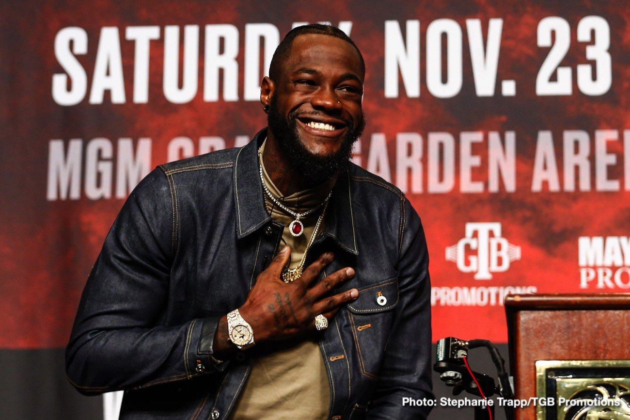Deontay Wilder, Tyson Fury - Boxing News