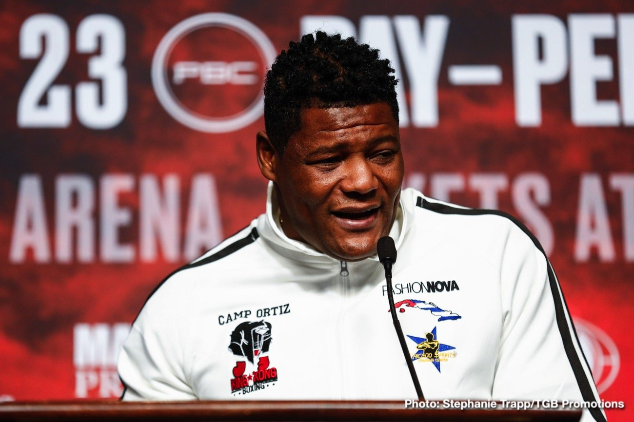 "Luis Ortiz - Heavyweight contender, the so-called ""Bogeyman of the division,"" Luis Ortiz today celebrates his 41st birthday. The Cuban southpaw known as ""King Kong"" was born in Camaguey, Cuba on this day in 1979. There was a time when the age of 41 was deemed far too old for any fighter to still be actively looking for a shot at the title, but Ortiz (who some say is actually older than 41, perhaps closer to 50) is still hungry and determined."
