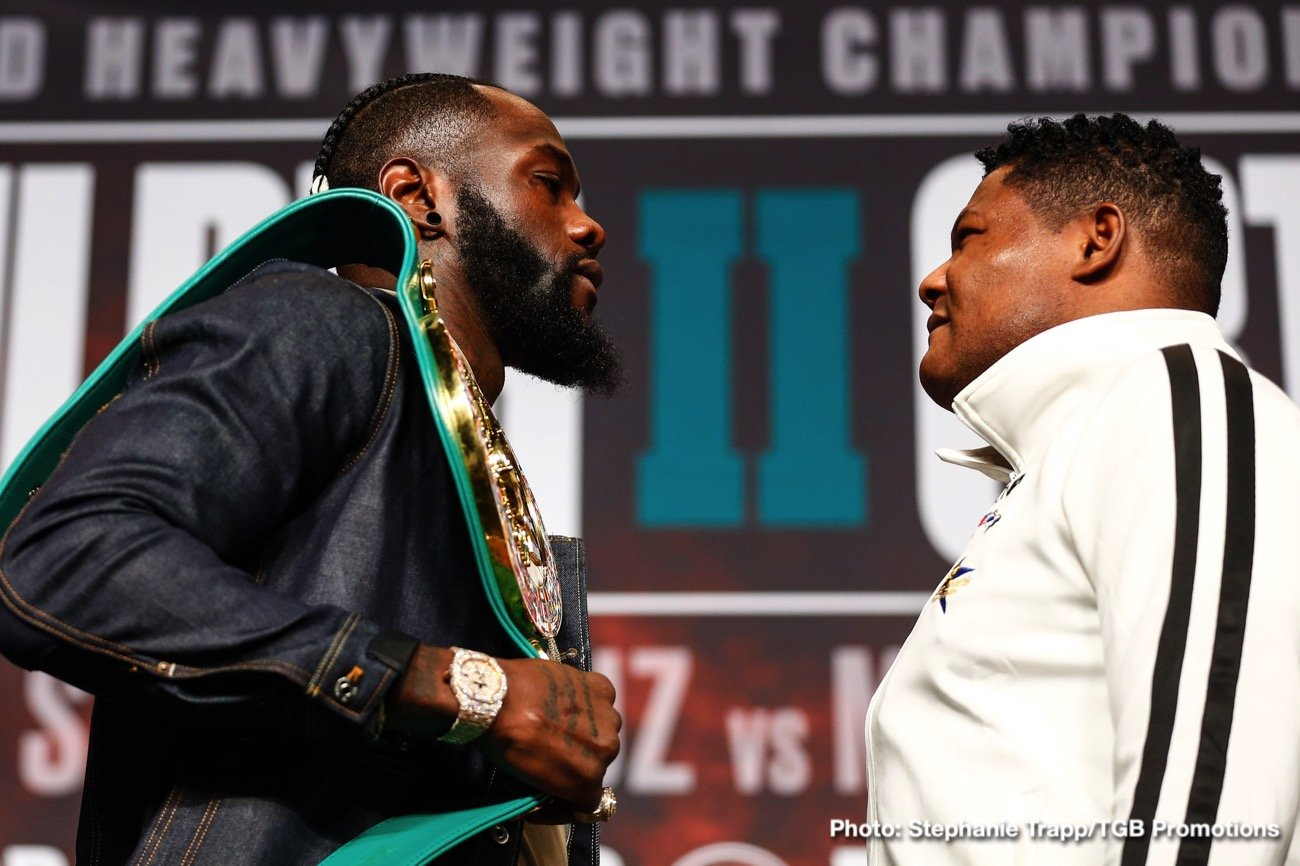 "Deontay Wilder, Luis Ortiz - On Saturday, November 23 at the MGM Grand Hotel in Las Vegas, Deontay ""The Bronze Bomber"" Wilder (41-0-1, 40 KOs) squares off against Luis ""King Kong"" Ortiz (31-1-0, 26 KOs) for the WBC heavyweight championship title. The bout carries a tangible excitement that portends a thrilling fight, perhaps one for the ages."
