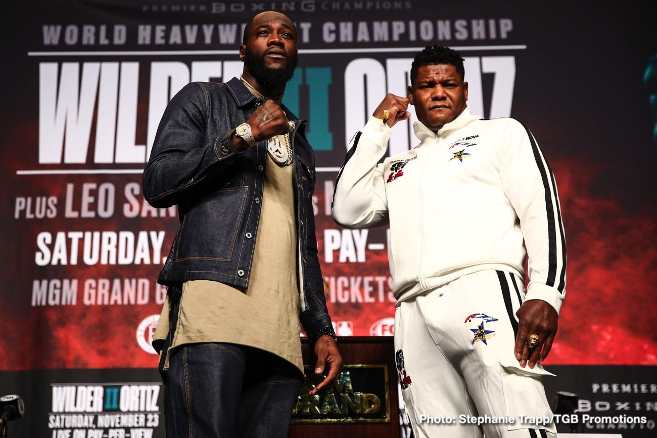Fox Sports Pay-Per-View - The eagerly anticipated rematch between WBC heavyweight champion Deontay Wilder (41-0-1) and challenger Luis 'King Kong' Ortiz (31-1-0), at the MGM Grand Garden Arena on 23 November. The fight will be streamed on DAZN in four of its markets – exclusive in Germany and Spain and non-exclusive in Austria and Switzerland.