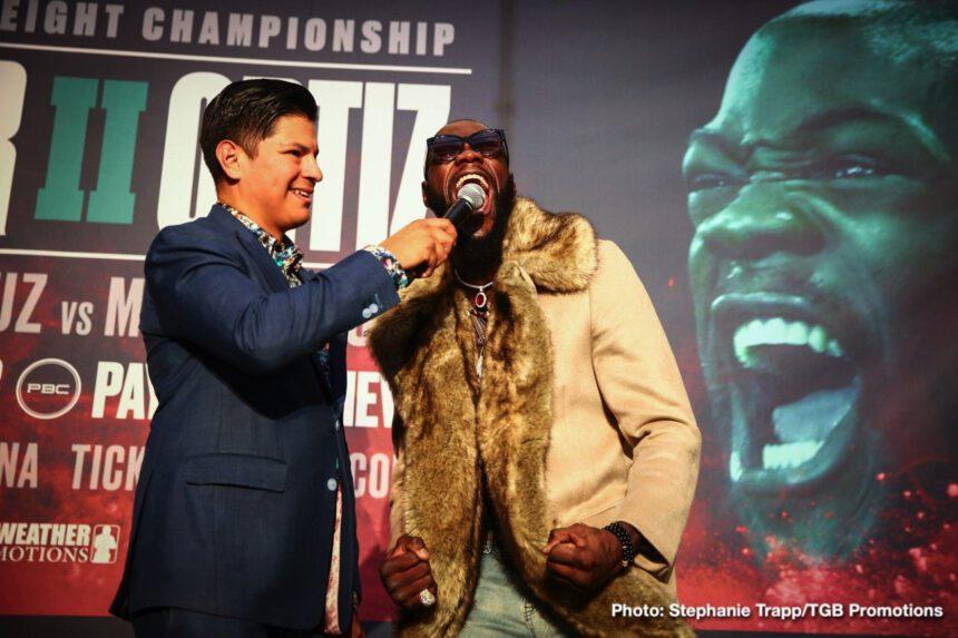 Deontay Wilder, Luis Ortiz - Boxing News