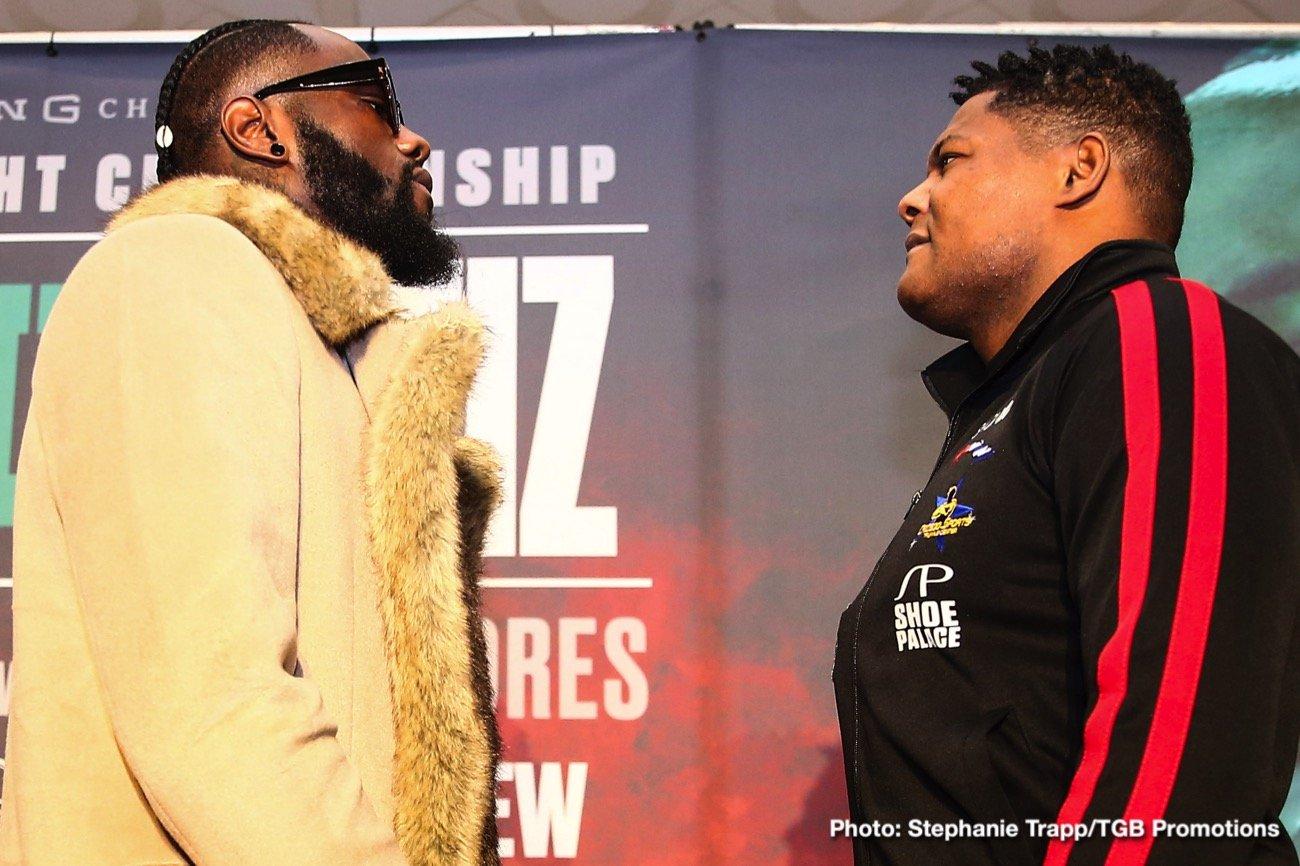Deontay Wilder, Fox Sports Pay-Per-View, Luis Ortiz - It's fight week!