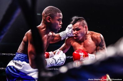 Brian Carlos Castaño Javier Fortuna Wale Omotoso Boxing News Boxing Results Top Stories Boxing