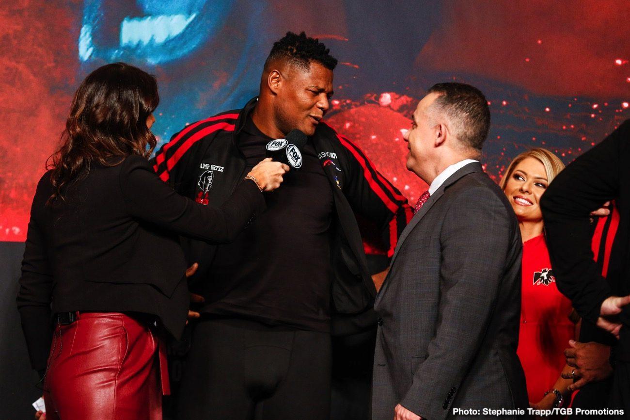 Andy Ruiz Jr, Dillian Whyte - Boxing News