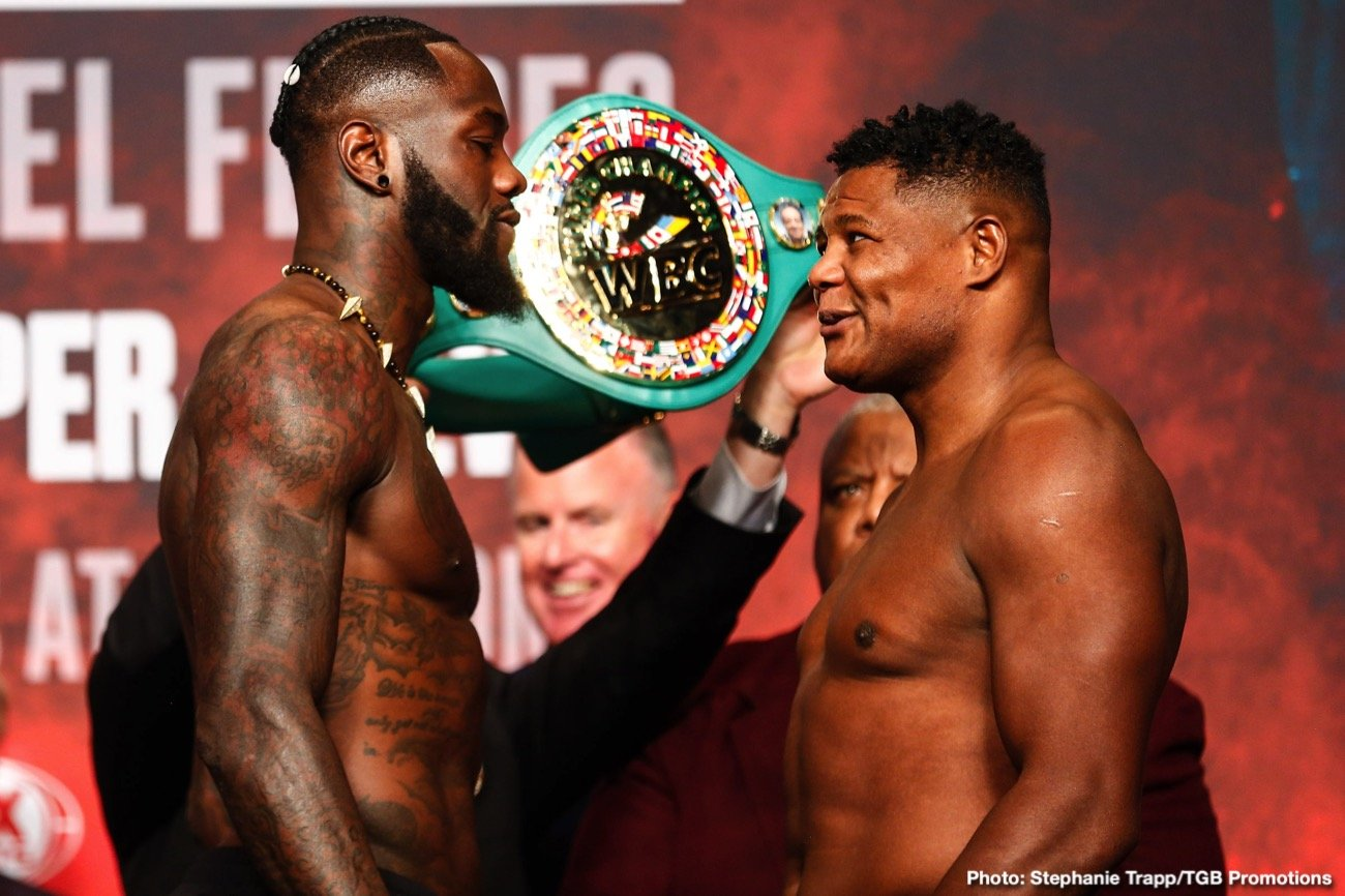 Deontay Wilder, Luis Ortiz - Have you been at all swayed by the absolutely superb physical condition Luis Ortiz appeared to be in as he stepped on the scale ahead of tonight's big rematch with Deontay Wilder? Maybe you felt all along that Ortiz will win the rematch; he sure came agonisingly close in the first fight these two had or course