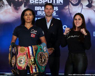 Alexander Besputin Cecilia Braekhus Hughie Fury Radzhab Butaev Boxing News