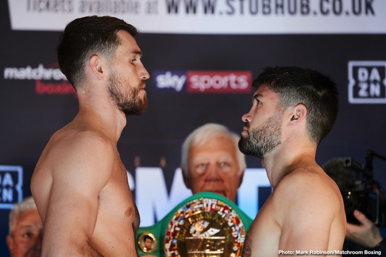 Callum Smith, John Ryder - John Ryder has warned Callum Smith that he is ready to rip his WBA Super-Middleweight World title away from him and shatter his Anfield dream when they collide at the M&S Bank Arena Liverpool on Saturday, live on Sky Sports in the UK and DAZN in the US.
