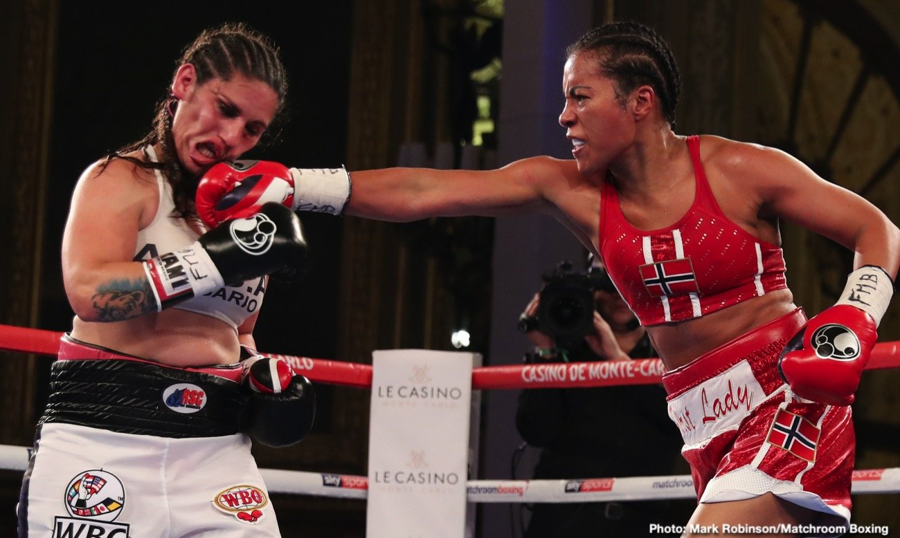 Cecilia Braekhus - Alexander Besputin took three scores of 116-112 to land the vacant WBA Welterweight World Title against fellow Russian Radzhab Butaev at the Casino de Monte-Carlo earlier this evening, live on Sky Sports in the UK and DAZN in the US.