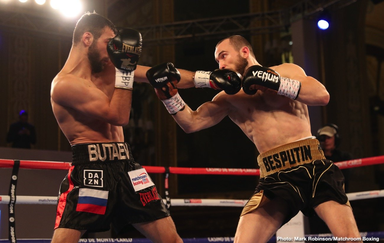 Alexander Besputin, Radzhab Butaev - World Ranked Welterweight Contender Radzhab Butaev has spoken out following the recent details of Alexander Besputin's failed drug test results from their WBA Welterweight World Championship fight on November 30, 2019, in Monte Carlo. Recently, Butaev and his team were informed that the 'B' sample from Basputin also contained LGD-4033(Ligandrol). The 'A' sample contained the same prohibited drug when the finding was announced in January.  Besputin was declared the winner of their hard-fought bout by unanimous decision by scores of 116-112 on all three judges' scorecards.