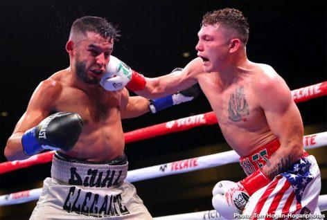 Andrew Cancio Rene Alvarado Xu Can Boxing Results Press Room