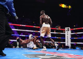 Deontay Wilder - And your guy is going in with this monster next!