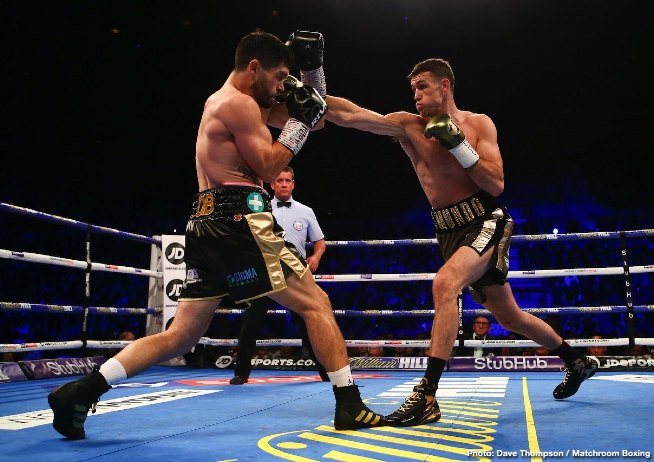 Anthony Fowler Callum Smith Chris Billam-Smith Craig Glover James Tennyson John Ryder Boxing Results British Boxing Press Room