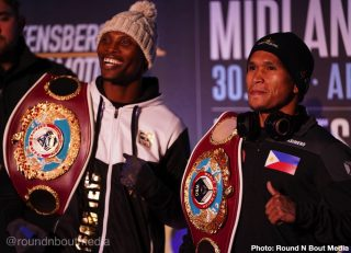 Zolani Tete - In a magnificent world title fight South Africa's Zolani Tete (28-3, 21KOs) risks his WBO bantamweight title against Filipino interim champion John Riel Casimero (28-4, 19KOs) where the winner will be likely to face IBF and WBA title holder Naoya Inoue in 2020.