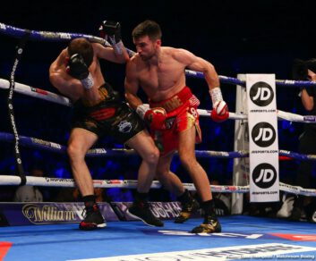 Anthony Fowler, Callum Smith, Chris Billam-Smith, Craig Glover, James Tennyson, John Ryder - In a poor performance, WBA Super World super middleweight champion Callum Smith (27-0, 19 KOs) labored hard to win a 12 round unanimous decision over John 'Gorilla' Ryder (28-5, 16 KOs) on Saturday night at the M&S Bank Arena in Liverpool.