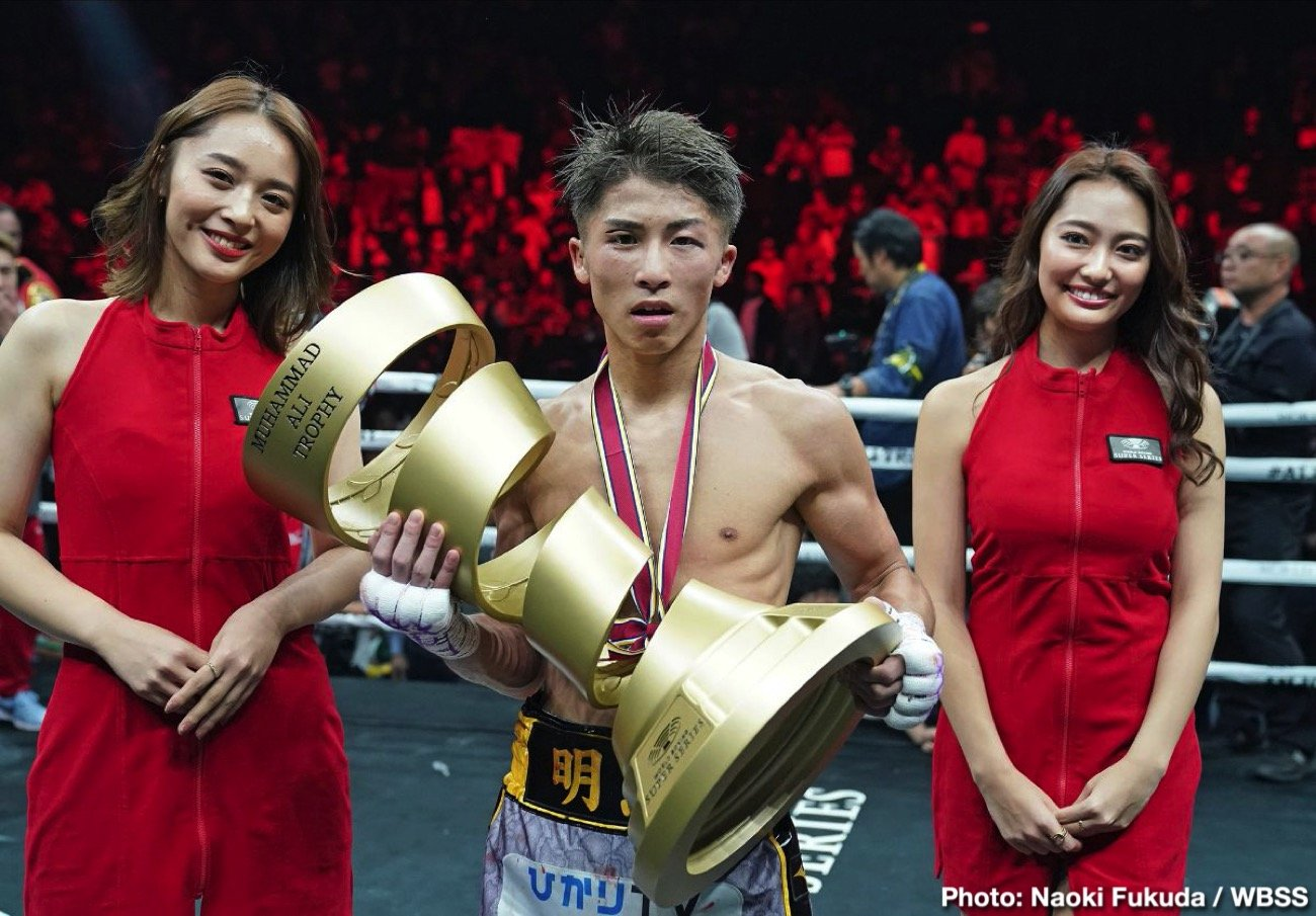 Naoya Inoue, Nonito Donaire, World Boxing Super Series - IBF/WBA bantamweight champion Naoya 'Monster' Inoue's 12 round unanimous decision victory over WBA champ Nonito 'The Filipino Flash' Donaire (40-6, 26 KOs) was a costly one last Thursday with the Japanese suffering a couple of injuries to his face. He suffered a right orbital bone fracture and a broken nose.